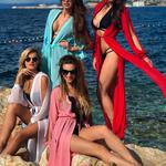 Model Princess - Bílá | dlouhé bílé letní plážové šaty na plavky | Beach Swan