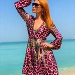 Sophia - vínová | krátký vínový plážový přehoz přes plavky nebo plážové šaty | Beach Swan