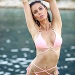 Elise | Luxusní sexy lososové dvoudílné dámské plavky | Beach Swan