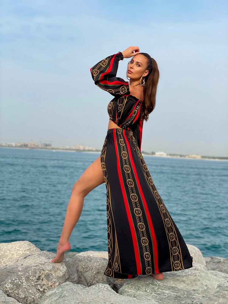 Scarlet - Armani silk