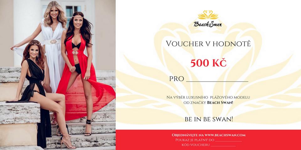 Beachswan voucher v hodnotě 500 Kč