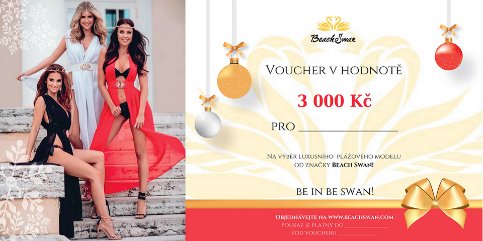 Beachswan voucher v hodnotě 3000 Kč